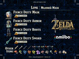 zelda card majoras mask back 2.0